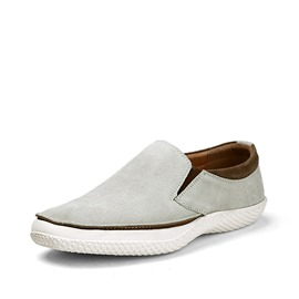 Ericdress Solid Color Suede Slip-On Casual Shoes