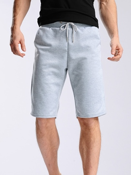 Ericdress Plain Casual Men's Shorts