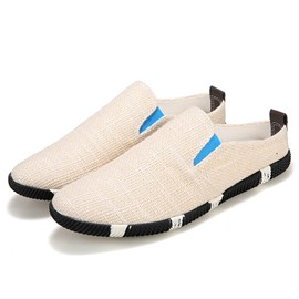 Ericdress Linen Men's Canvas Shoes