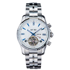 Fully Automatic Mechanical Pointer Steel Band Watch
