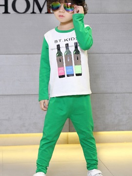 Ericdress Hoodie Boys Pants Outfit