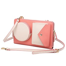 Ericdress Color Block Messenger Crossbody Bag