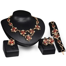 Ericdress Clover Alloy Jewelry Set