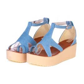 Ericdress Sea Star Ankle Strap Flat Sandals