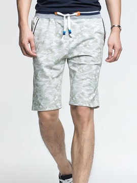 Ericdress Cotton Blends Soft Fabric Casual Men's Shorts