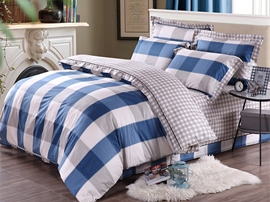 Ericdress Fashion Forefront Plaid Cotton Bedding Sets