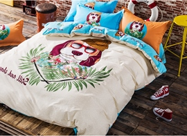 Ericdress Funny Doctor Dog Cotton Bedding Sets