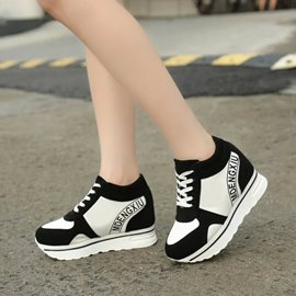 Ericdress Letters Print Thick Sole Sneakers