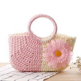 Ericdress Sunflower Straw Handbag