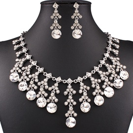 Ericdress Upscale Diamante Jewelry Set