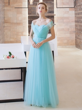 Ericdress Sweetheart Pleats Long Prom Dress