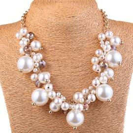 Ericdress Charming Pearls Necklace
