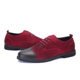 Ericdress Suede Patchwork Men's Casual Shoes