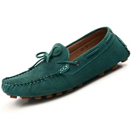 Ericdress Square Toe Flat Heel Plain Slip-On Men's Loafers