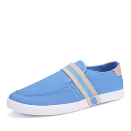 Ericdress Round Toe Low-Cut Upper Men's Canvas Shoes