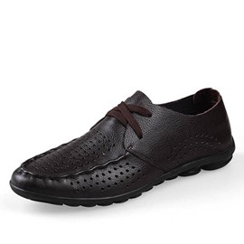 Ericdress Cut Out Lace up Men's Casual Shoes