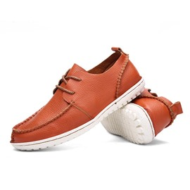 Ericdress Thread Round Toe Lace-Up Men's Casual Shoes