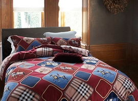 Ericdress Geometric Patchwork Cotton Bedding Sets