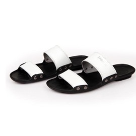 Ericdress Antiskid Men's Beach Flat Slippers
