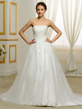 Ericdress Elegant Straps A Line Wedding Dress