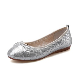 Ericdress Shinning Bowtie Decorated Flats