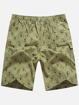 Ericdress Print Loose Men's Shorts