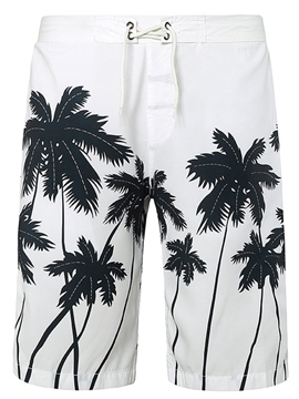 Ericdress Tree Print Loose Casual Men's Shorts