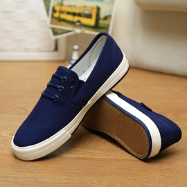 Ericdress Simple Low-Cut Upper Men's Canvas Shoes