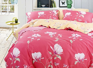Ericdress Pure Flower Blossom Cotton Bedding Sets