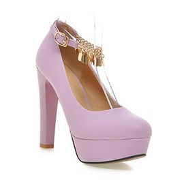 Ericdress Round Toe Tassels Prom Shoes