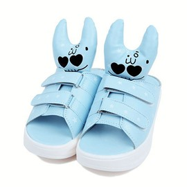 Ericdress Cartoon Rabbits Flat Slippers