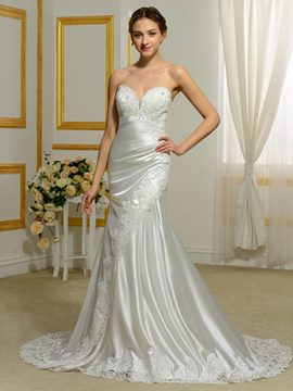 Ericdress Charming Sweetheart Hollow Mermaid Wedding Dress