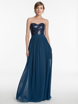 Ericdress Beautiful Sequins Sweetheart A Line Bridesmaid Dress
