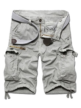 Ericdress Casual Zip Pocket Design Men's Shorts