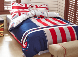 Ericdress United Kingdom Fashion Cotton Bedding Sets