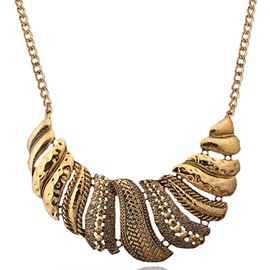 Ericdress Exaggerate Vintage Alloy Necklace