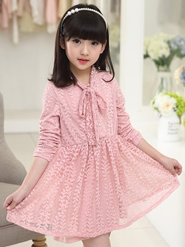 Ericdress Plain Lace Princess Dress