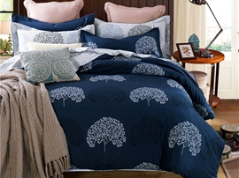 Ericdress Country Scenery Tree Print Cotton Bedding Sets