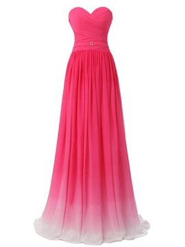 Ericdress Beautiful Gradient Color Bridesmaid Dress