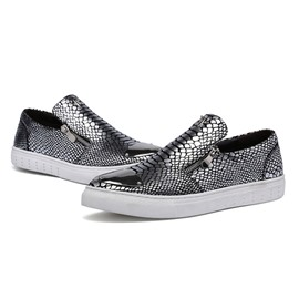 Ericdress Snake Print Sequin Men's Casual Shoes