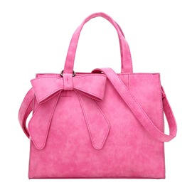 Ericdress Bowknot Decorated PU Handbag