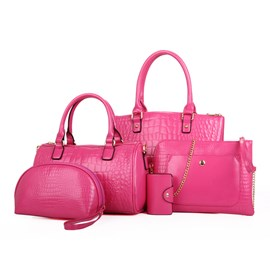 Ericdress Croco-Embossed Handbags(5 Bags)