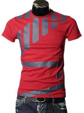 Ericdress Street Style All Matched Casual Men's T-Shirt