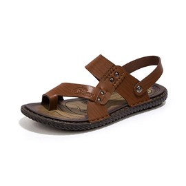 Ericdress Flat Heel Buckle Toe Ring Men's Sandals