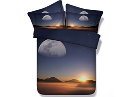 Ericdress Splendid Desert Sunset Digital Print Bedding Sets