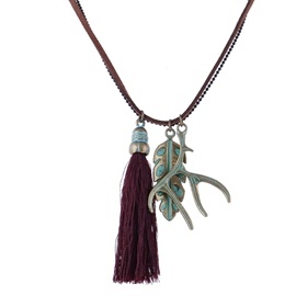 Ericdress Vintage Exotic Tassel Necklace