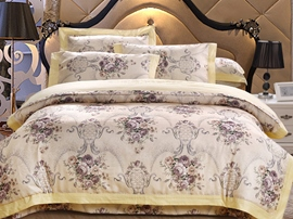 Ericdress Splendid Exotic Floral Print Cotton Bedding Sets