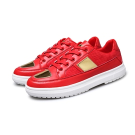 Ericdress British PU Lace-Up Athletic Shoes