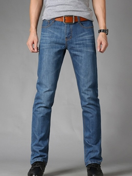 Ericdress Straight Casaul Loose Men's Jeans
