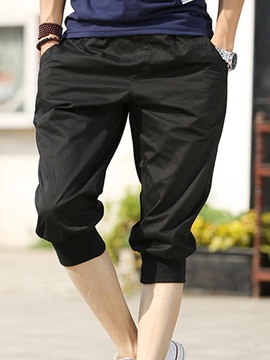 Ericdress Three-Quarter Leg Casual Men's Shorts